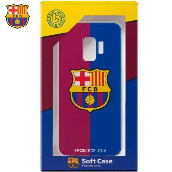 carcasa samsung g960 galaxy s9 licencia futbol fc barcelona blaugrana 1