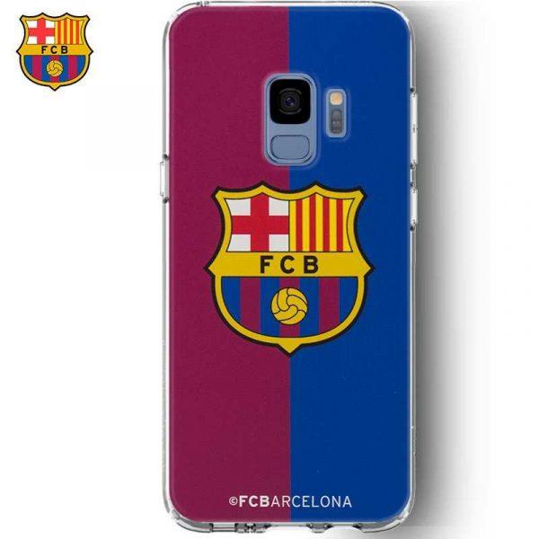 carcasa samsung g960 galaxy s9 licencia futbol fc barcelona blaugrana