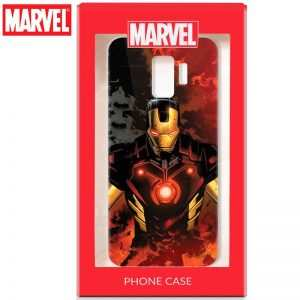carcasa samsung g960 galaxy s9 licencia marvel iron man 1