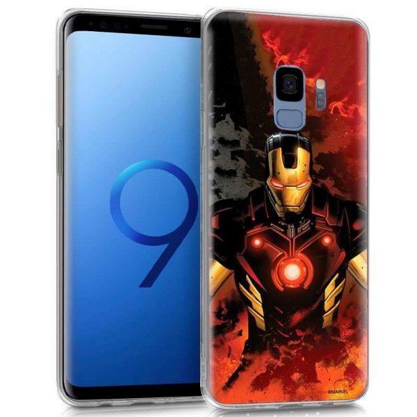 carcasa samsung g960 galaxy s9 licencia marvel iron man