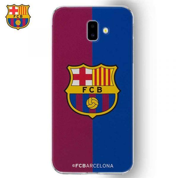 carcasa samsung j610 galaxy j6 plus licencia futbol fc barcelona blaugrana