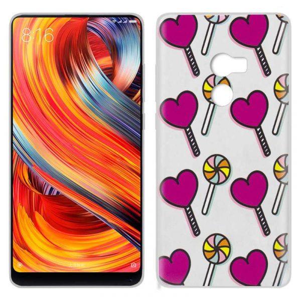 Carcasa Xiaomi Mi Mix 2 Dibujos Piruletas 1