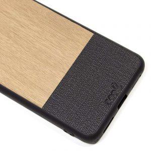 carcasa xiaomi pocophone f1 dibujos madera beige