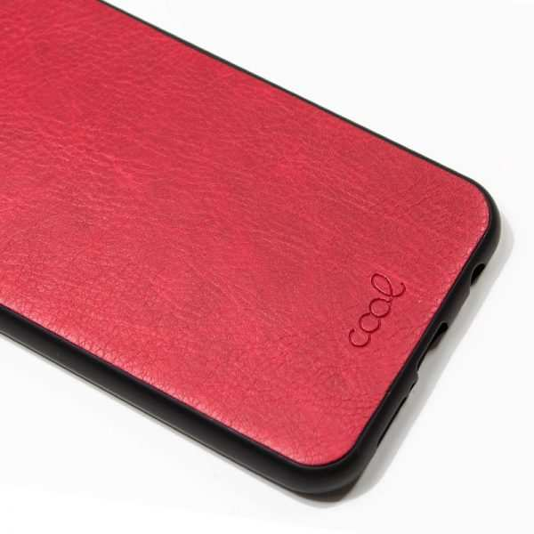 carcasa xiaomi pocophone f1 leather piel rojo 1