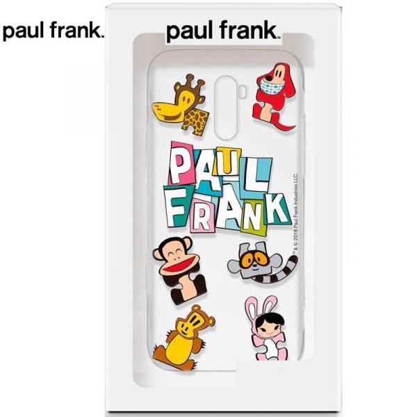 carcasa xiaomi pocophone f1 licencia paul frank animals 1