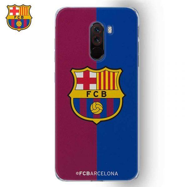 carcasa xiaomi pophone f1 licencia futbol fc barcelona blaugrama