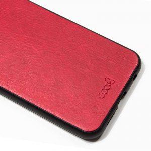 carcasa xiaomi redmi 5a leather piel rojo