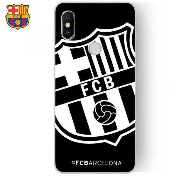 carcasa xiaomi redmi s2 licencia futbol fc barcelona negro