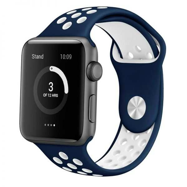 correa apple watch series 1 2 3 4 38 40 mm sport azul 1