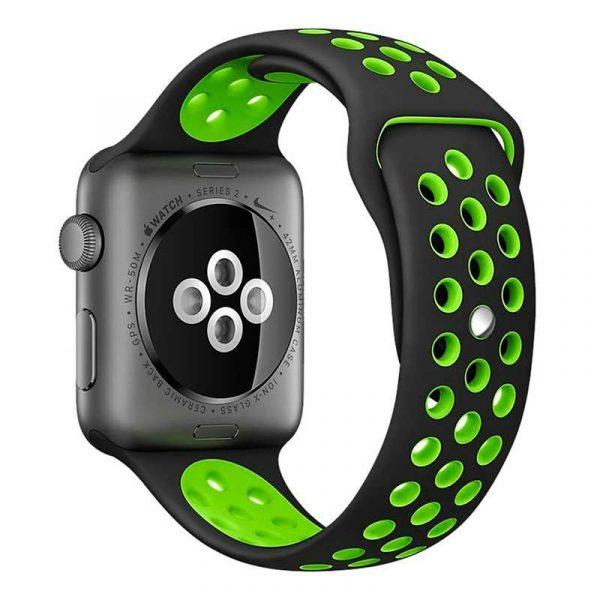 correa apple watch series 1 2 3 4 42 44 mm sport negro 1