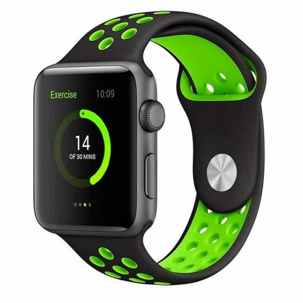 correa apple watch series 1 2 3 4 42 44 mm sport negro 2