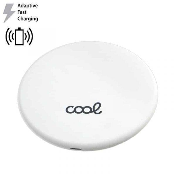 Dock Base Cargador Smartphones Qi Inalámbrico Universal (Carga Rápida) Blanco 1