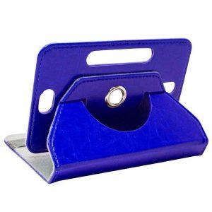 funda ebook tablet 10 pulgadas polipiel giratoria azul 1