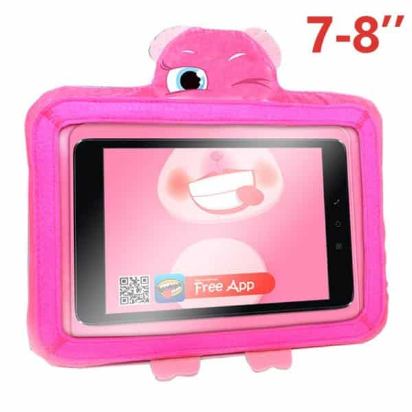 funda ebook tablet 8 pulgadas universal wise pet rosy rosa app 2