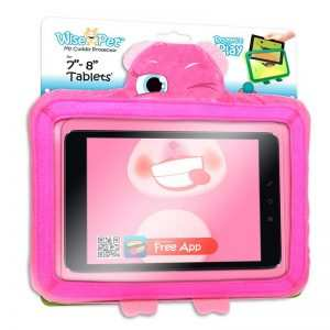 funda ebook tablet 8 pulgadas universal wise pet rosy rosa app