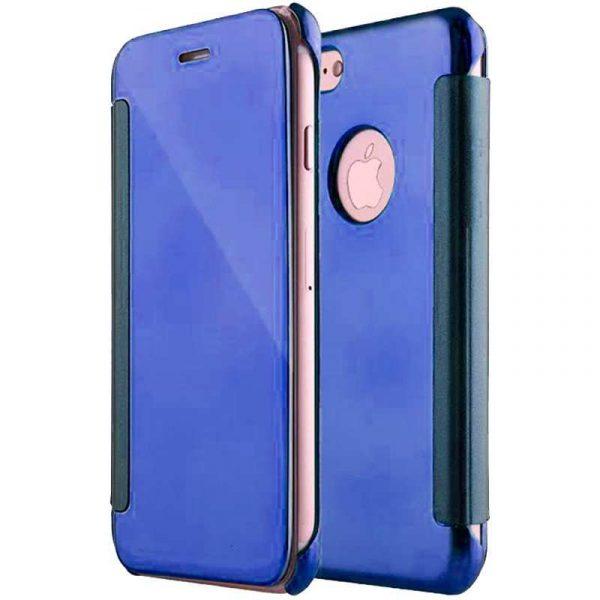 Funda Flip Cover iPhone 7 / iPhone 8 / SE 2020 Clear View Azul 1