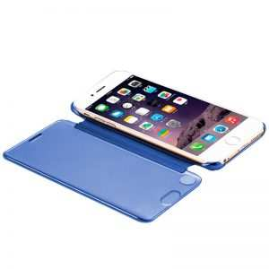 Funda Flip Cover iPhone 7 / iPhone 8 / SE 2020 Clear View Azul 3