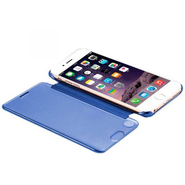 Funda Flip Cover iPhone 7 / iPhone 8 / SE 2020 Clear View Azul 2