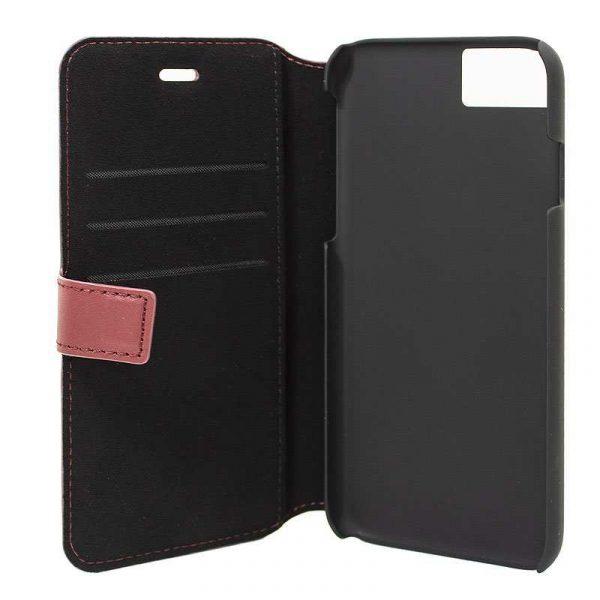 funda flip cover iphone 7 iphone 8 licencia mercedes benz rojo