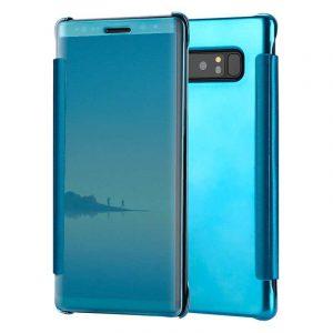 funda flip cover samsung n950 galaxy note 8 clear view azul 1