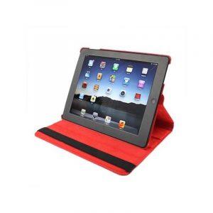 funda ipad 2 ipad 3 4 giratoria polipiel color rojo soporte 1