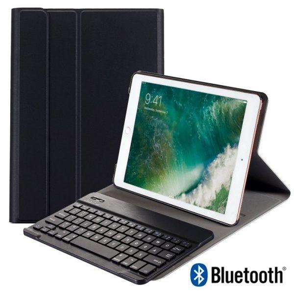 funda ipad air air 2 pro 97 ipad 2017 ipad 2018 97 pulg polipiel teclado bluetooth 1
