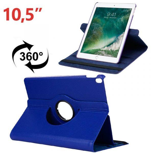 funda ipad pro 105 ipad air 2019 105 giratoria polipiel azul