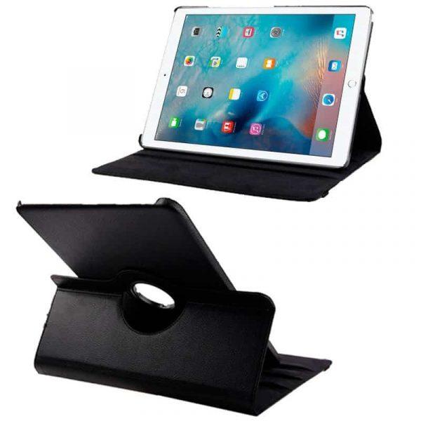 Funda iPad Pro 12.9 pulg Giratoria Polipiel Negro 1