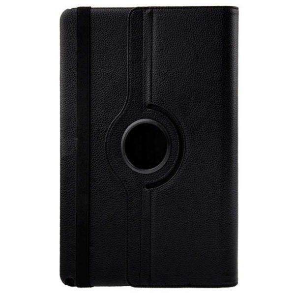 Funda iPad Pro 12.9 pulg Giratoria Polipiel Negro 3