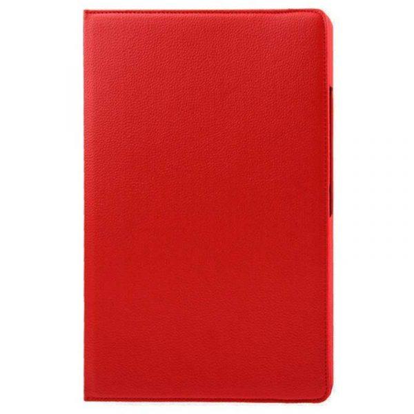 funda ipad pro 129 pulg giratoria polipiel rojo 1