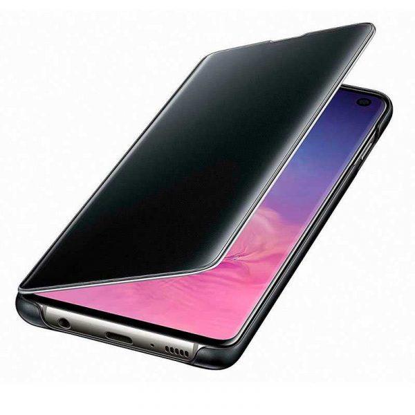 Funda Original Samsung G973 Galaxy S10 Clear View Negro (Con Blister) 2