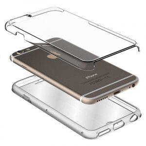 Funda Silicona 3D Samsung J600 Galaxy J6 (Transparente Frontal + Trasera) 3