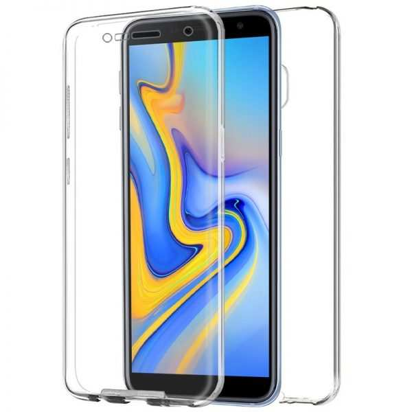 Funda Silicona 3D Samsung J610 Galaxy J6 Plus (Transparente Frontal + Trasera) 1
