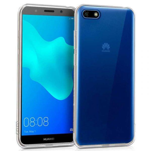 Funda Silicona Huawei Y5 (2018) / Honor 7S (Transparente) 1
