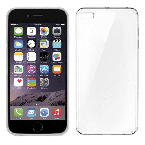 funda silicona iphone 6 6s transparente