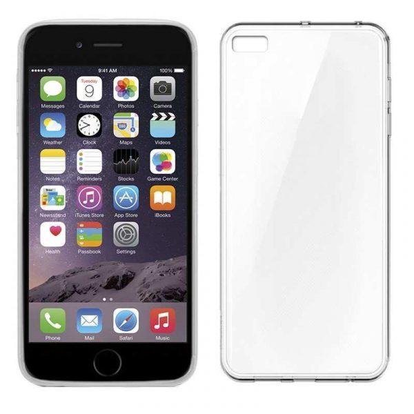 funda silicona iphone 6 plus 6s plus transparente