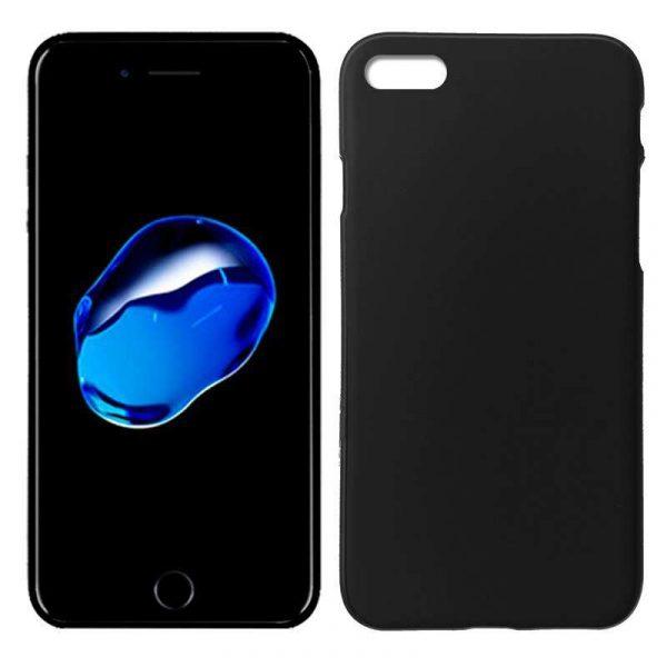 Funda Silicona iPhone 7 / iPhone 8 / SE 2020 (Negro) 1