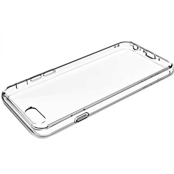 Funda Silicona iPhone 7 / iPhone 8 / SE 2020 (Transparente) 2