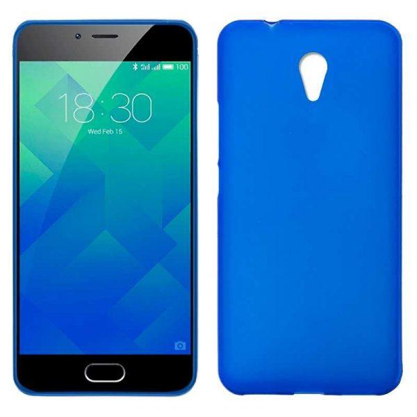 funda silicona meizu m5s azul