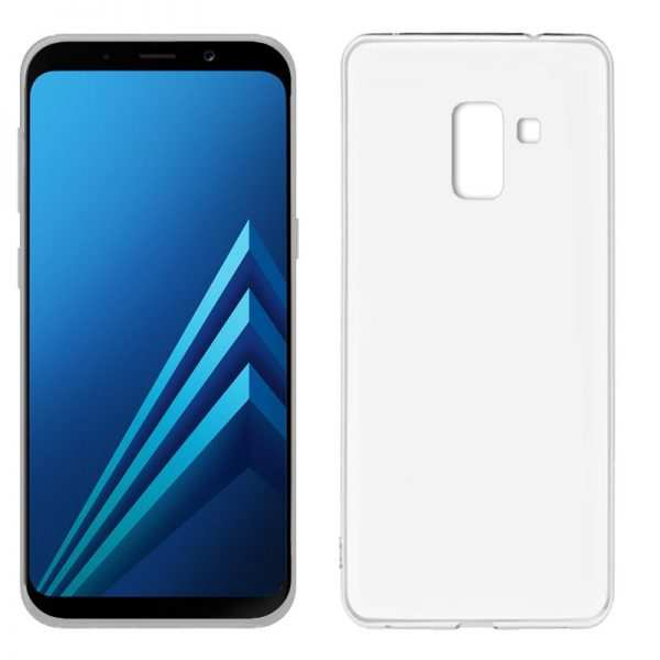 Funda Silicona Samsung A530 Galaxy A8 (2018) Transparente 1