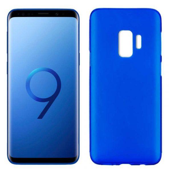 funda silicona samsung g960 galaxy s9 azul
