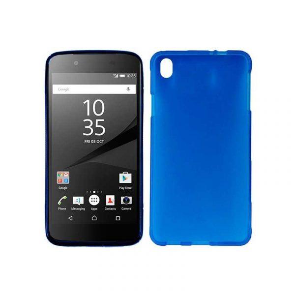 funda silicona sony xperia z5 azul