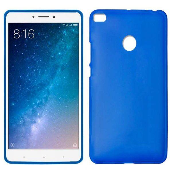 Funda Silicona Xiaomi Mi Max 2 (Azul) 1