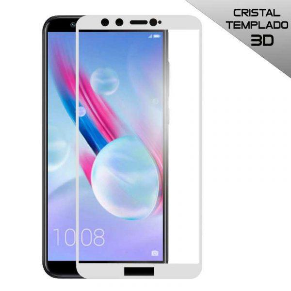 protector pantalla cristal templado huawei honor 9 lite 3d blanco