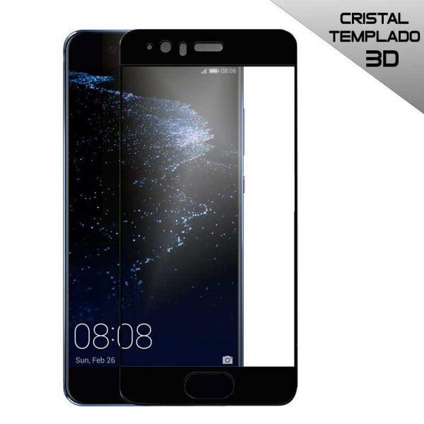 protector pantalla cristal templado huawei p10 plus 3d negro