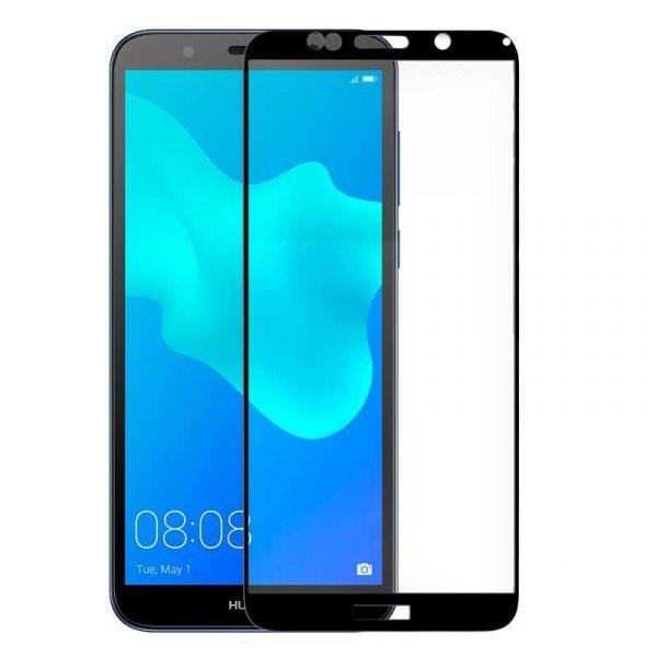 protector pantalla cristal templado huawei y5 2018 honor 7s 3d negro