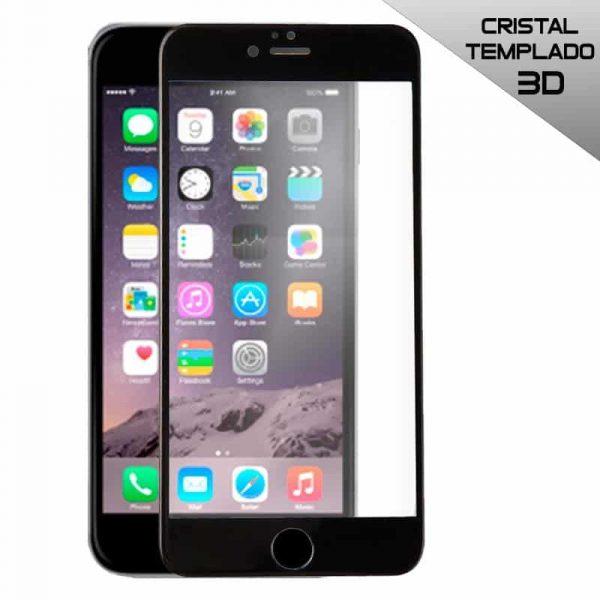 protector pantalla cristal templado iphone 6 plus 6s plus full 3d negro2