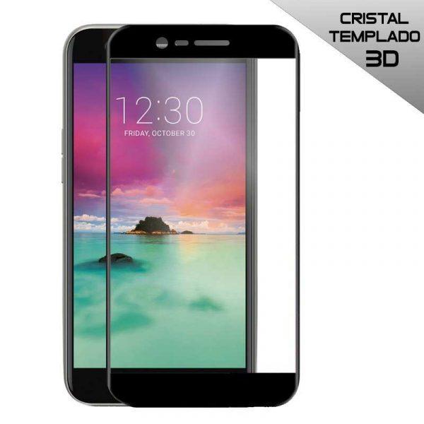 Protector Pantalla Cristal Templado LG K10 (2017) / K11 (3D Negro) 1