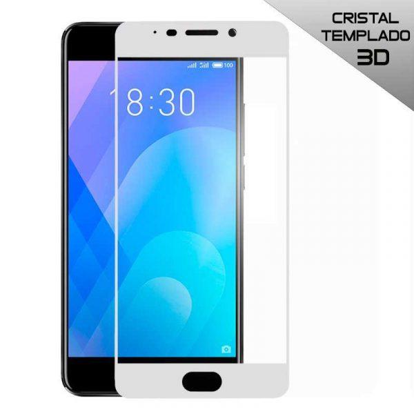 protector pantalla cristal templado meizu m6 note 3d blanco