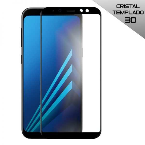 protector pantalla cristal templado samsung a530 galaxy a8 2018 full 3d negro